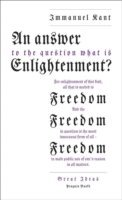 An answer to the question: what is enlightenment?