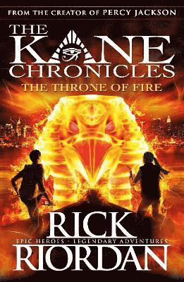 bokomslag Throne of fire (the kane chronicles book 2)
