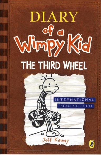 bokomslag The Third Wheel: Diary of a Wimpy Kid 7