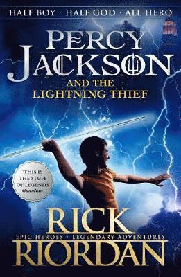 bokomslag Percy Jackson and the Lightning Thief (Book 1)