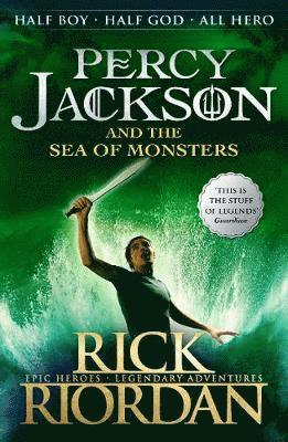 bokomslag Percy Jackson and the sea of monsters
