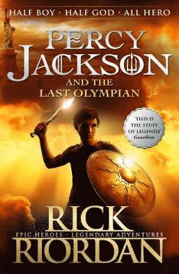 bokomslag Percy jackson and the last olympian (book 5)