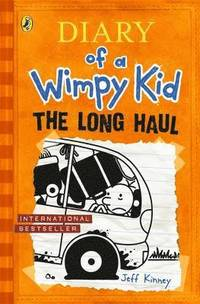 bokomslag The Long Haul: Diary of a Wimpy Kid 9