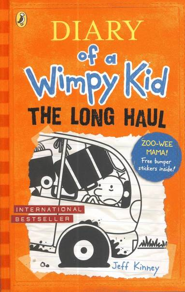 bokomslag The Long Haul : Diary of a Wimpy Kid 9