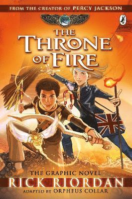 bokomslag Throne of fire: the graphic novel (the kane chronicles book 2)
