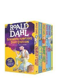 bokomslag Roald Dahl's Scrumdiddlyumptious Story Collection