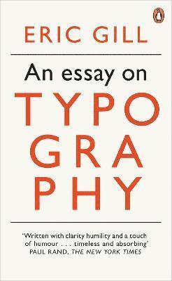 bokomslag An Essay on Typography