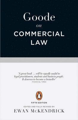 bokomslag Goode on commercial law - fifth edition