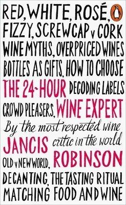 bokomslag 24-hour wine expert