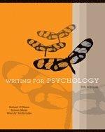 bokomslag Writing for Psychology