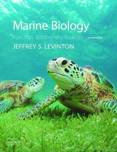 bokomslag Marine Biology: Function, Biodiversity, Ecology