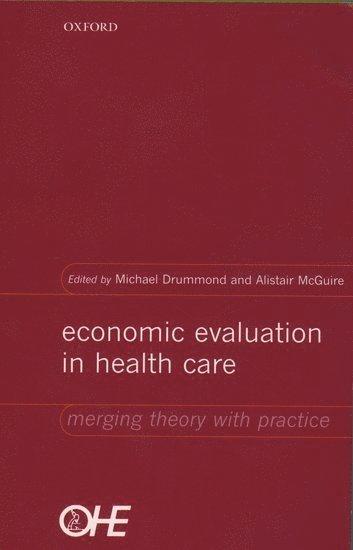 bokomslag Economic Evaluation in Health Care