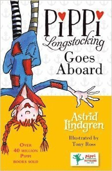 bokomslag Pippi Longstocking Goes Aboard