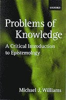 bokomslag Problems of Knowledge: A Critical Introduction to Epistemology
