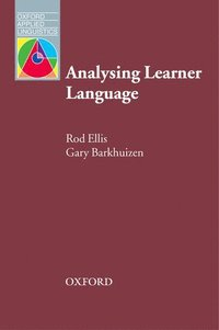 bokomslag Analysing Learner Language