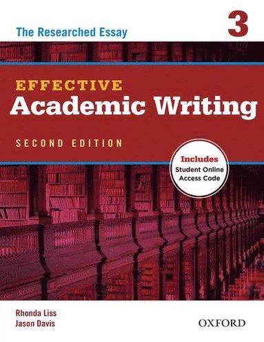 bokomslag Effective Academic Writing Second Edition: 3: Student Book