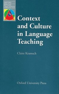bokomslag Context and Culture in Language Teaching