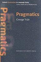 bokomslag Pragmatics