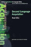 bokomslag Second Language Acquisition
