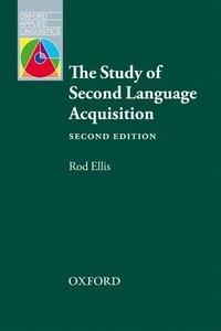 bokomslag Study of second language acquisition
