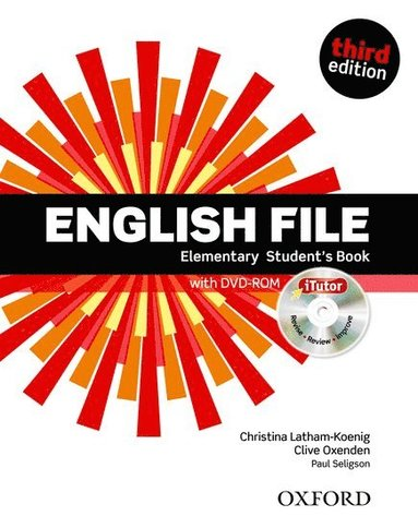 bokomslag English File third edition: Elementary: Student's Book with iTutor: The best way to get your students talking