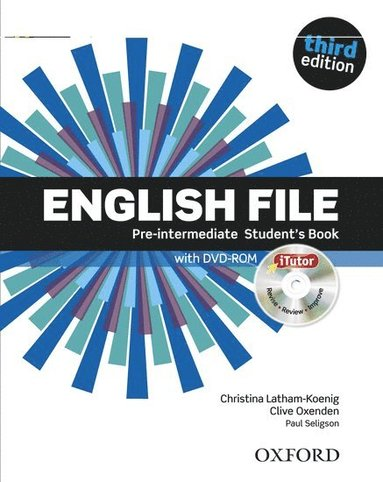 bokomslag English File: Pre-Intermediate: Student's Book with Itutor