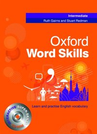 bokomslag Oxford Word Skills Intermediate: Student's Pack (Book and CD-ROM)