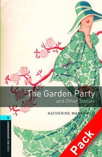 bokomslag Oxford Bookworms Library: Level 5:: The Garden Party and Other Stories audio CD pack