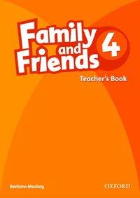 bokomslag Family and Friends: 4: Teacher's Book