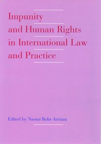 bokomslag Impunity and Human Rights in International Law and Practice