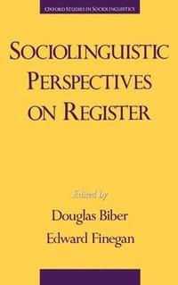 bokomslag Sociolinguistic Perspectives on Register