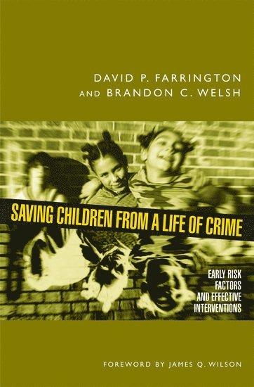 bokomslag Saving Children from a Life of Crime