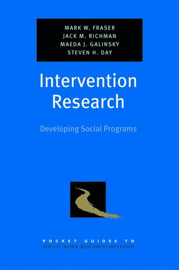 bokomslag Intervention research - developing social programs