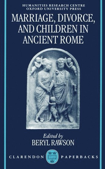 bokomslag Marriage, Divorce, and Children in Ancient Rome
