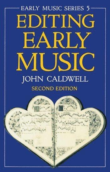bokomslag Editing Early Music