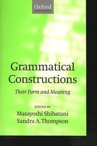 bokomslag Grammatical Constructions