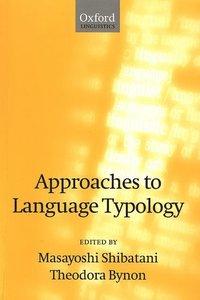 bokomslag Approaches to Language Typology
