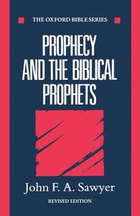 bokomslag Prophecy and the Biblical Prophets