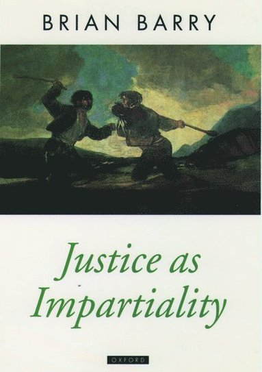 bokomslag Justice as Impartiality