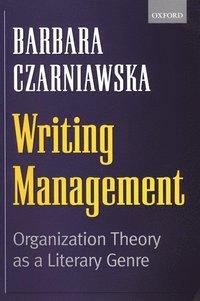 bokomslag Writing Management
