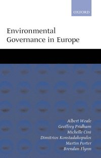 bokomslag Environmental Governance in Europe