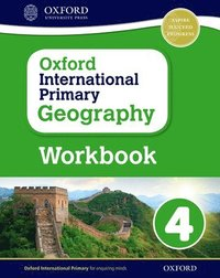 bokomslag Oxford International Primary Geography: Workbook 4