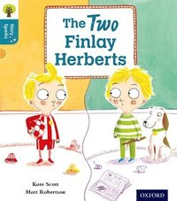 bokomslag Oxford Reading Tree Story Sparks: Oxford Level  9: The Two Finlay Herberts