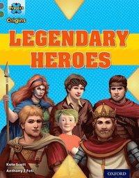 bokomslag Project X Origins: Grey Book Band, Oxford Level 12: Myths and Legends: Tiger's Legendary Heroes