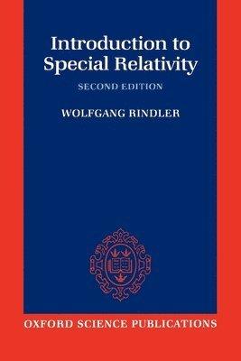 bokomslag Introduction to Special Relativity