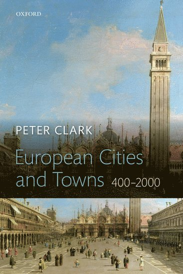 bokomslag European cities and towns - 400-2000