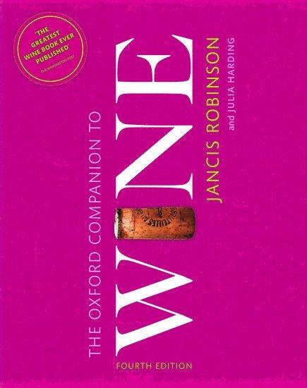 Oxford companion to wine 1