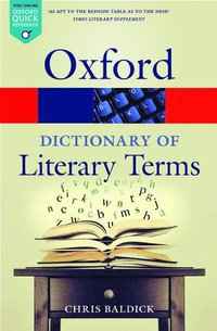 bokomslag The Oxford Dictionary of Literary Terms