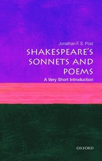 bokomslag Shakespeares sonnets and poems: a very short introduction