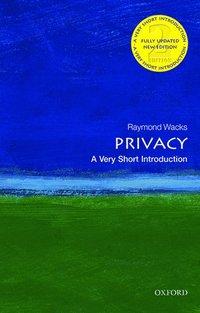 bokomslag Privacy: A Very Short Introduction